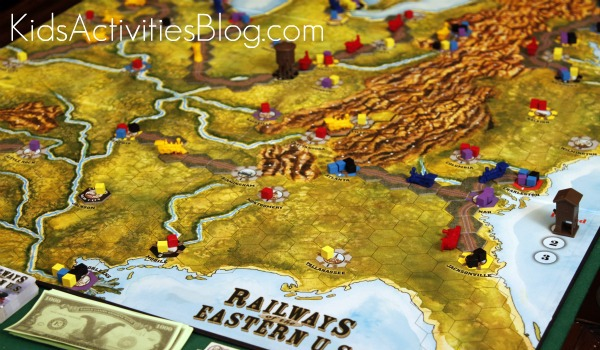 Railways of the World Game board