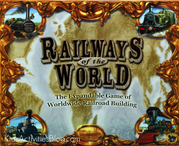 Railways of the World board game box