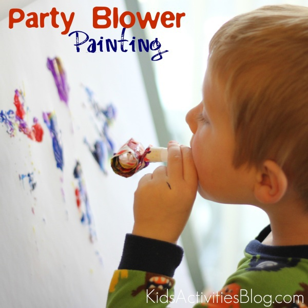 Things To Paint things to paint with: a party blower