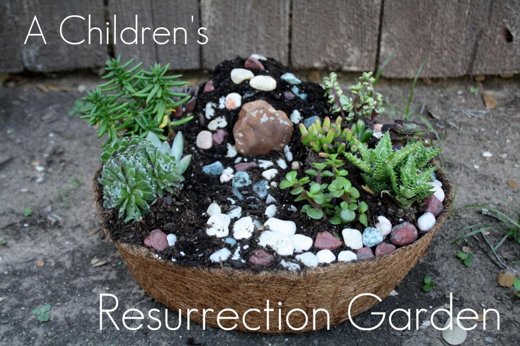 Easter Tradition: Create a Resurrection Garden - Kids Activities Blog
