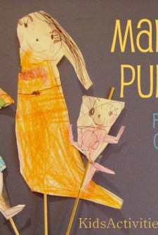 Make a Craft Puppet: Pretend Play with your Childs Art