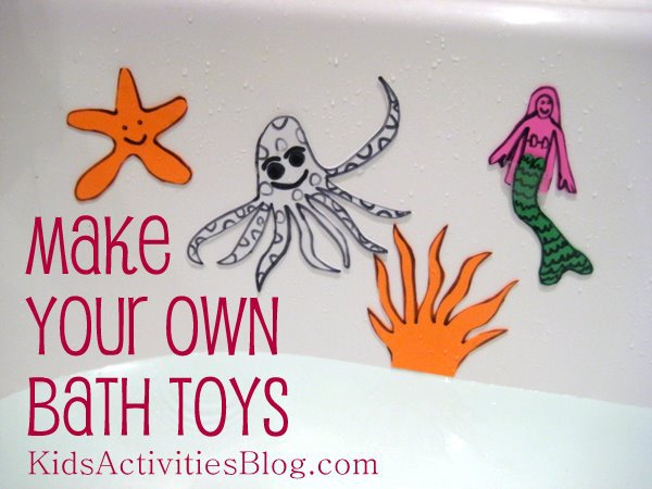 homemade toys for bath time