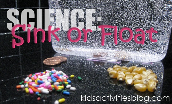Sink or float experiment