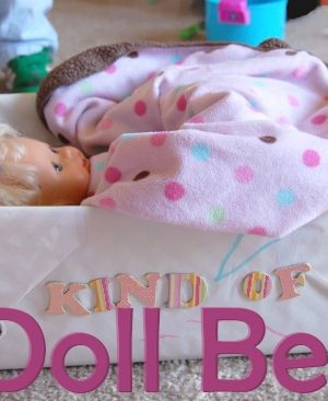 DIY dollbed