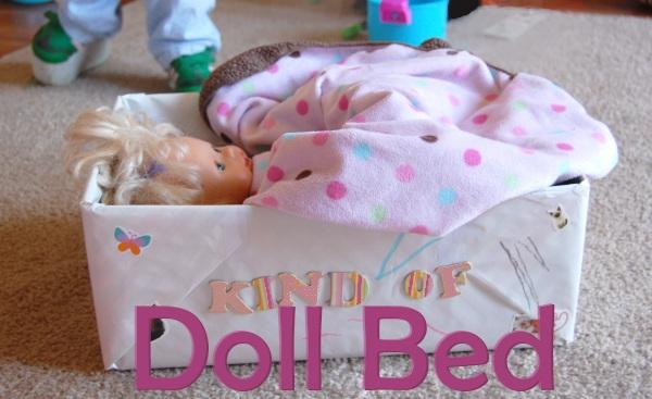 DIY dollbed