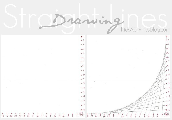 Drawing Lines Using A Ruler Worksheet : How to draw a straight line