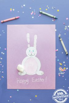 Easter Bunny Ears Craft for Kids {SUPER CUTE!}