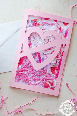 valentines home made card