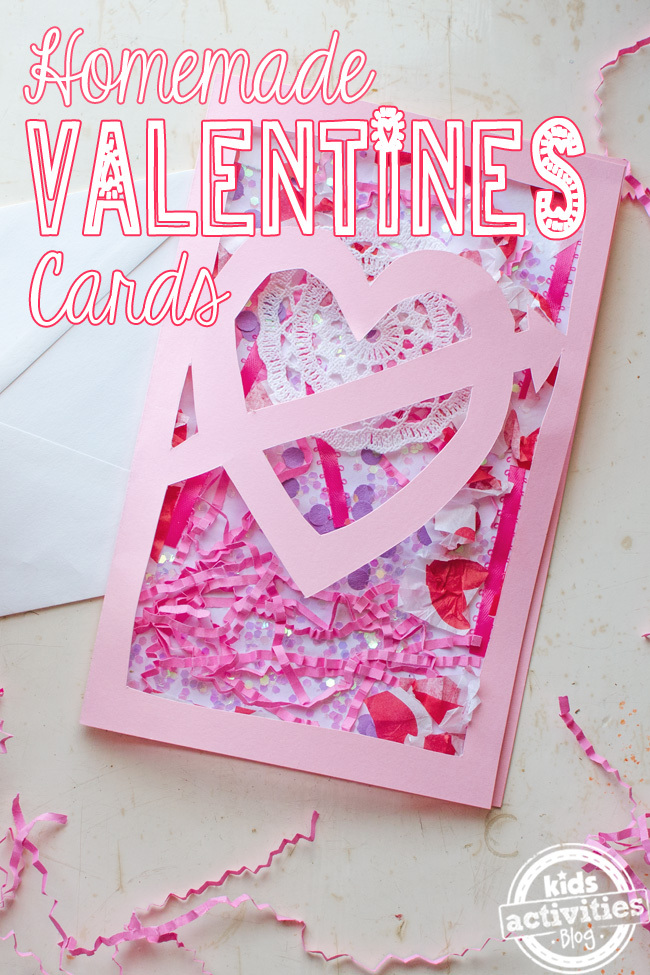 Valentines Home Made Card Super Cool Idea – Valentines Card Photos