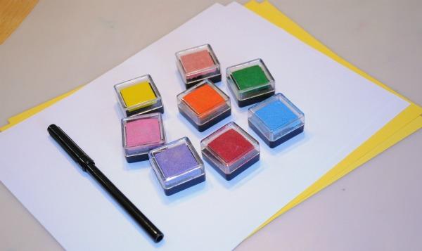 ink stamp supplies