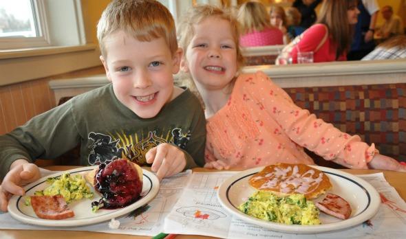 Green eggs and ham for Kids restaurants