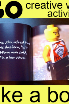LEGO & Education:  Create your own book