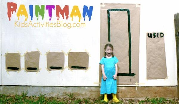 kids are messy paintman