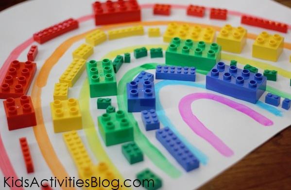 rainbow craft activity