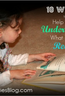 Help me to read: 10 ways to boost comprehension