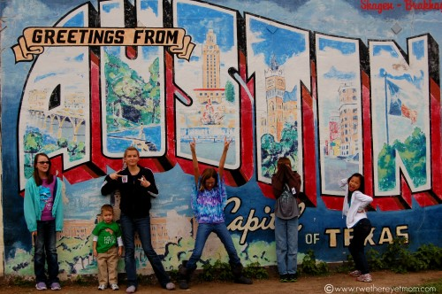 How to keep austin weird with kids for Austin mural tour