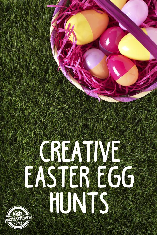 Easter Egg Hunt 5 Creative Ideas