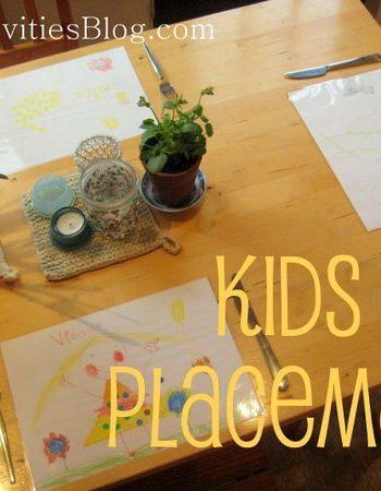 DIY placemats
