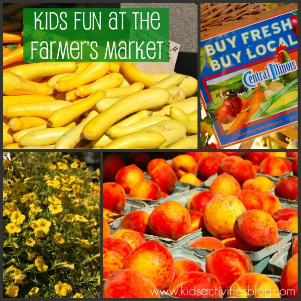 Farmers Market Fun For Kids