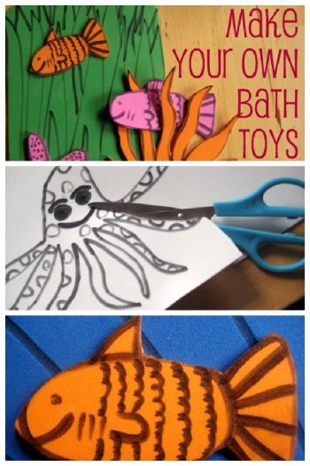 Make your own bath toys - Kids Activities Blog