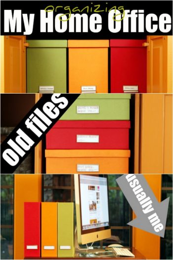 Organizing My Home Office - Kids Activities Blog