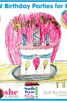 Dallas-Fort Worth Area Birthday Parties for Kids