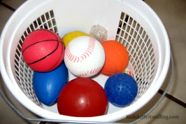 basket of balls