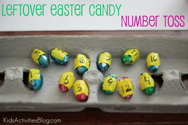 candy number toss