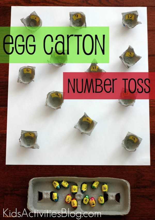 egg carton number toss