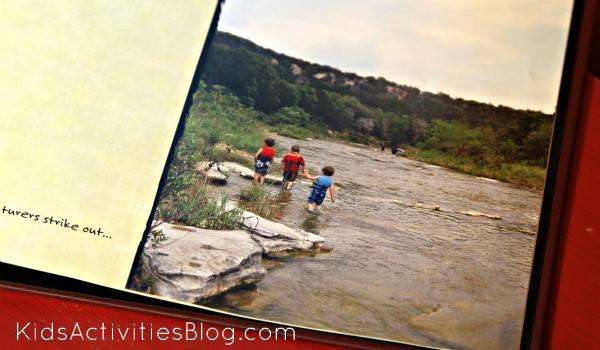 family bedtime stories river