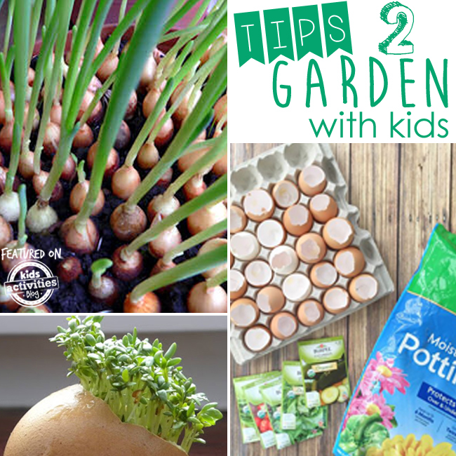 35 Helpful Tips on How to Garden with Kids!