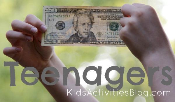 kids and money teenagers