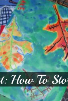 Kids Art: How to Store It All
