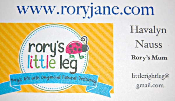 mommy business card front