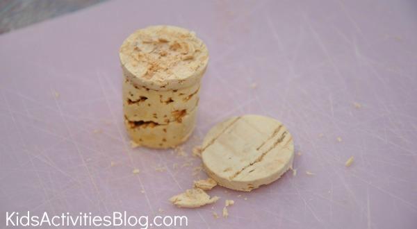 sliced-cork