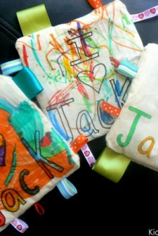 Homemade Baby Toy for Older Siblings to Make