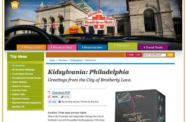 Roadtrip-a-Matic PA Kidsylvania tour