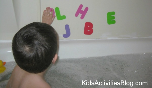 bathtub letters