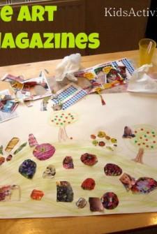 Collage Art: Magazines