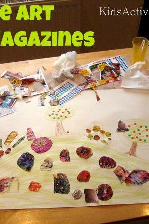 collage art magazines