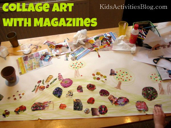 collage art magazines