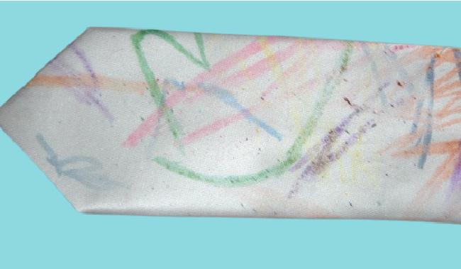 cravate d'art pour enfants fait maison pour papa - Blog d'activités pour enfants