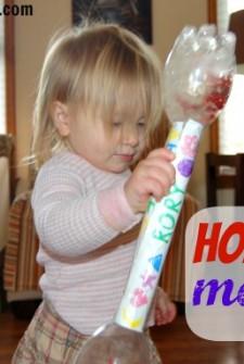 Musical Instruments for Kids: Homemade Maracas!