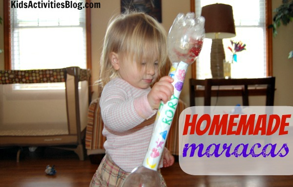 homemade maracas