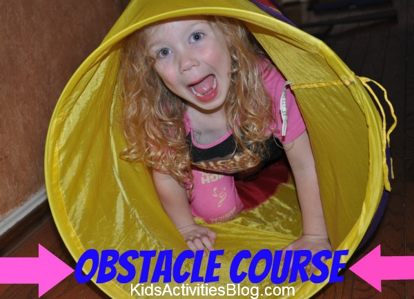 indoor obstacle course activity