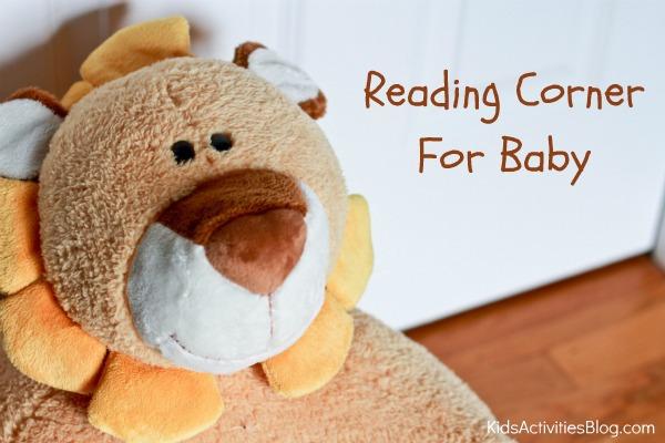 reading corner for baby