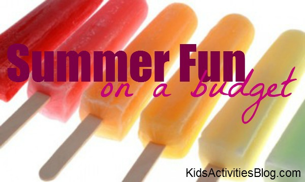 summer fun on a budget