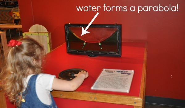 water parabola
