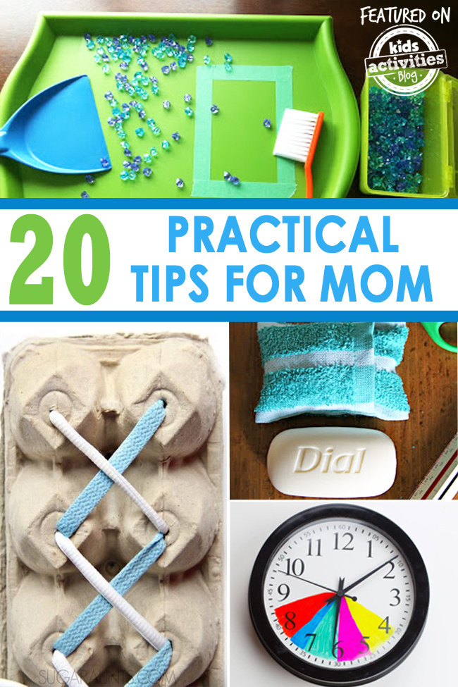 20 practical tips for mom