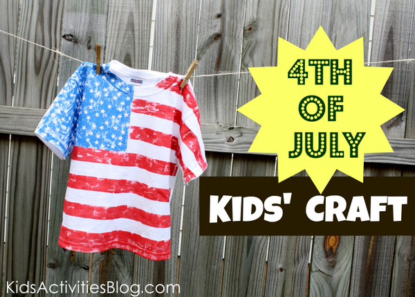 DIY 4th of July Shirt Tutorial